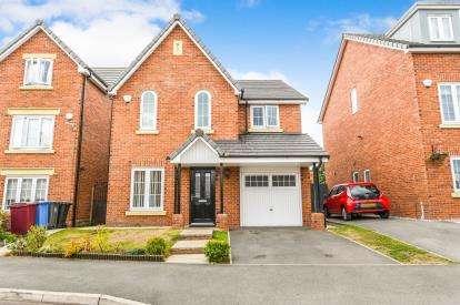 4 Bedrooms Detached House for sale in Sandfield Crescent, Prescot, Whiston, Prescot, L35