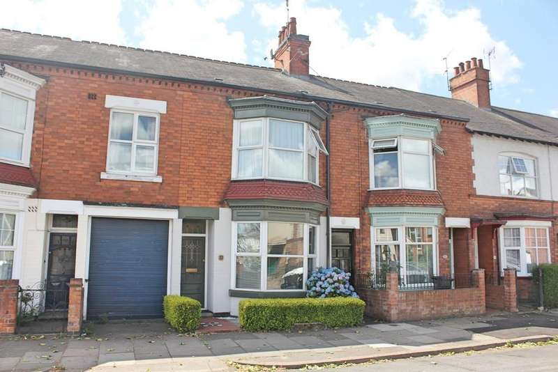 3 Bedrooms Terraced House for sale in Evesham Road, Leicester