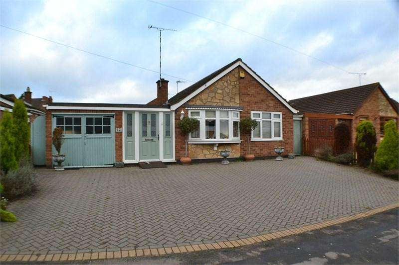 3 Bedrooms Detached Bungalow for sale in Lutterworth Road, Burbage