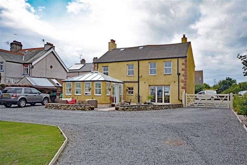 4 Bedrooms Detached House for sale in Main Street, Silecroft, Cumbria