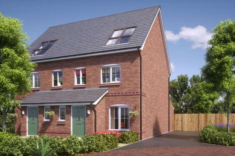 3 Bedrooms Semi Detached House for sale in New Calder Rectory Lane, Standish, Wigan, WN6