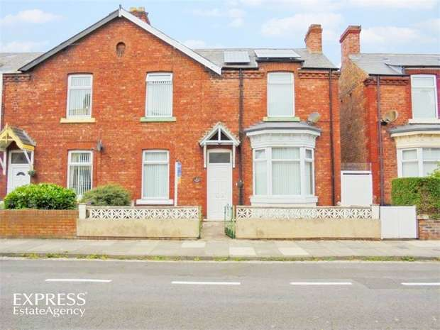 3 Bedrooms Semi Detached House for sale in Lansdowne Road, Hartlepool, Durham