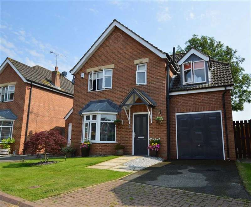 4 Bedrooms Detached House for sale in St Margarets View, Long Riston, East Yorkshire