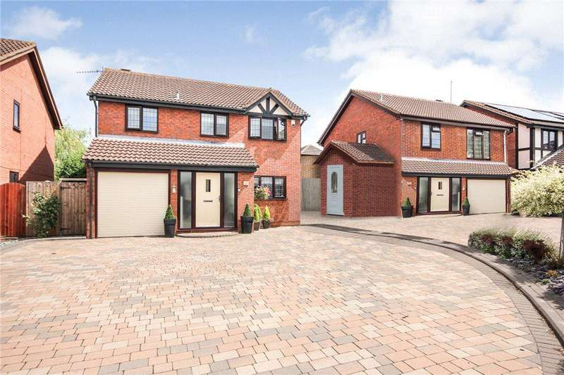 4 Bedrooms Detached House for sale in Penrith Close, Lakeside, Brierley Hill, West Midlands, DY5