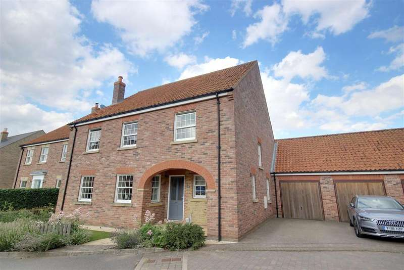 4 Bedrooms Detached House for sale in Monckton Rise, North Newbald