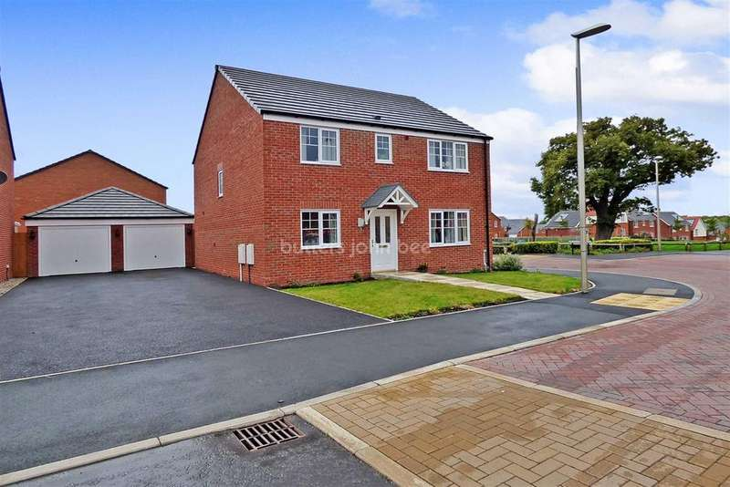 4 Bedrooms Detached House for sale in Rosemary Crescent, Winsford