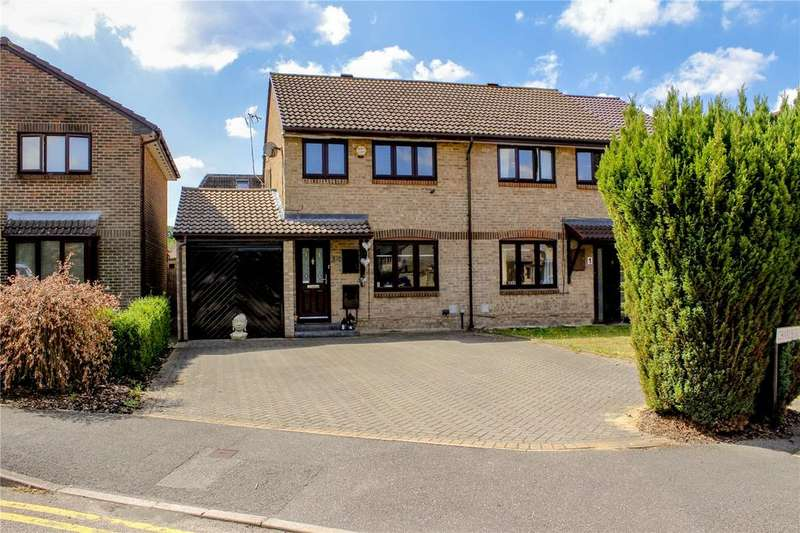 2 Bedrooms Semi Detached House for sale in Fordwells Drive, Bracknell, Berkshire, RG12