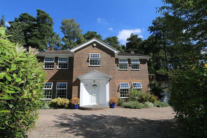 5 Bedrooms Detached House for sale in Castle Road, Camberley, Surrey, GU15 2DS
