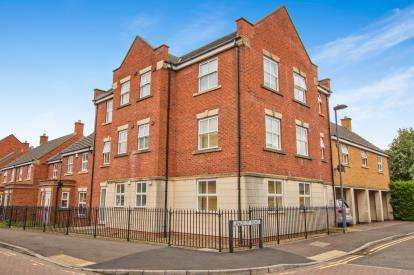 2 Bedrooms Flat for sale in Lancelot Road, Stoke Park, Stapleton, Bristol