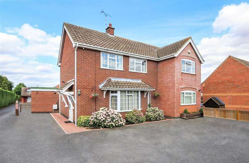 4 Bedrooms Property for sale in The Green, Diseworth, DE74 2QN