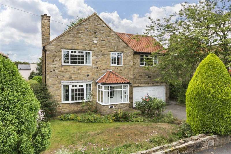 4 Bedrooms Detached House for sale in Manor Close, Bramhope, Leeds, West Yorkshire