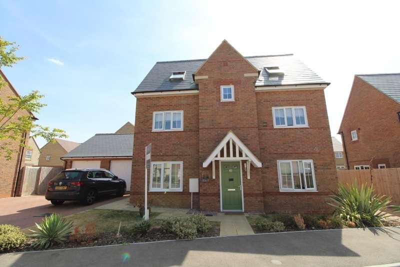 4 Bedrooms Detached House for sale in Maritime Way, Brooklands, Milton Keynes, Buckinghamshire
