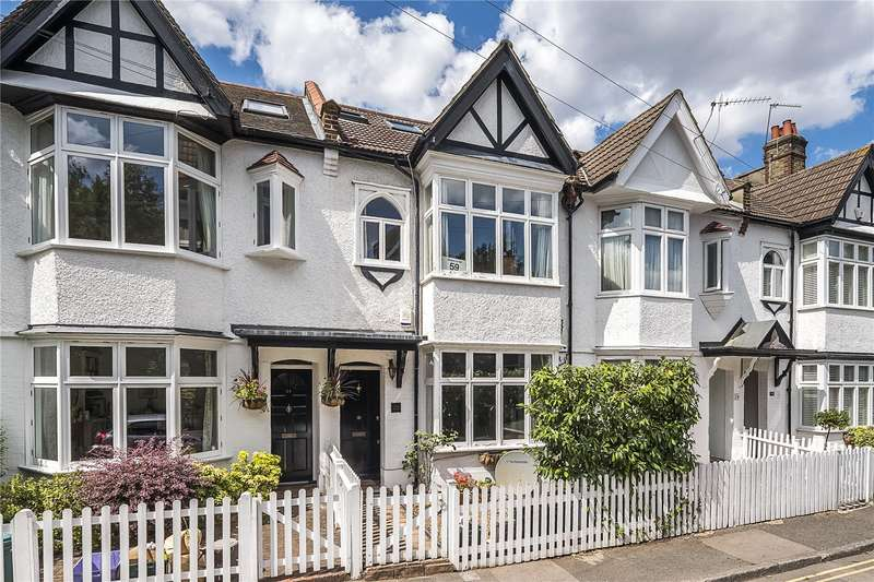4 Bedrooms Terraced House for sale in Watery Lane, London, SW20