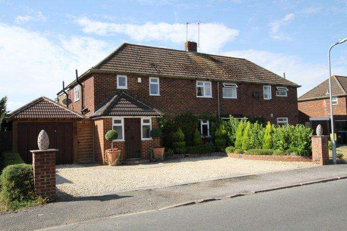 4 Bedrooms Semi Detached House for sale in Southwood Gardens, COOKHAM, SL6