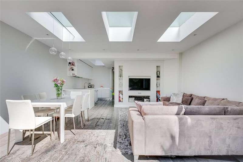 2 Bedrooms Flat for sale in Beauchamp Road, Battersea, London