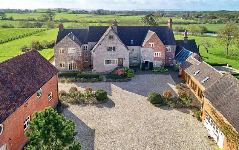 7 Bedrooms Equestrian Facility Character Property for sale in Hillborough Lane, Bidford-on-Avon, Alcester, Warwickshire, B50