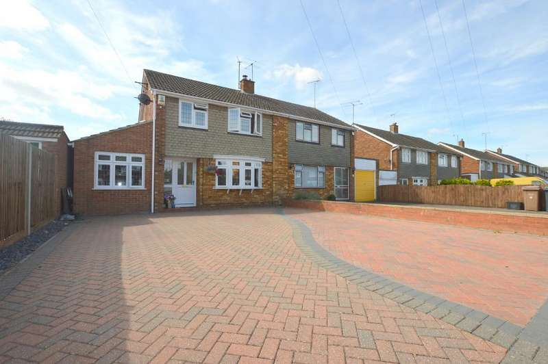 4 Bedrooms Semi Detached House for sale in Weltmore Road, Luton, Bedfordshire, LU3 2TN