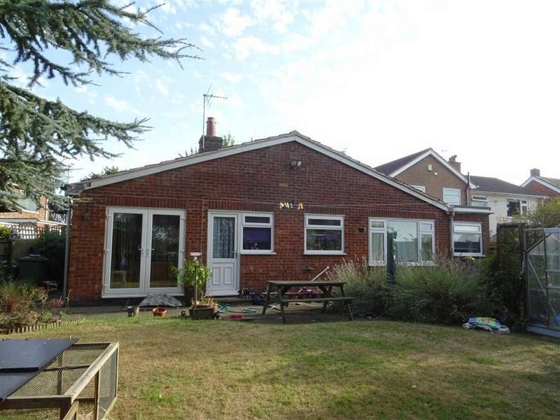3 Bedrooms Detached Bungalow for sale in Hinckley Road, Sapcote