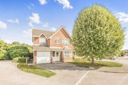 4 Bedrooms Detached House for sale in Manchester Close, Stevenage, Hertfordshire, England