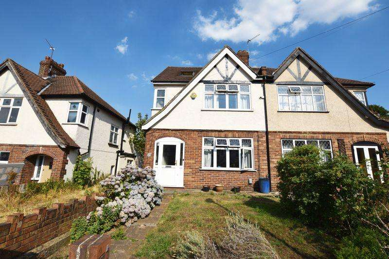 4 Bedrooms Semi Detached House for sale in Brinklow Crescent, Shooters Hill, SE18 3BS