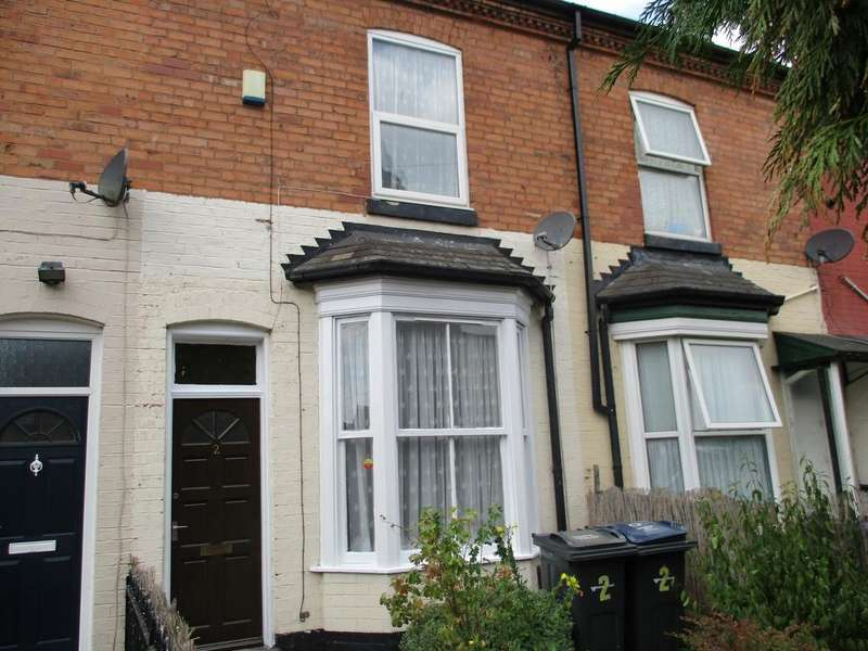 2 Bedrooms Terraced House for sale in Poplar Avenue, Lozells, Birmingham B19