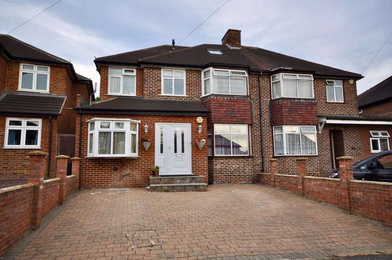 6 Bedrooms Semi Detached House for sale in Chiltern Crescent, Earley, Reading, RG6 1AN