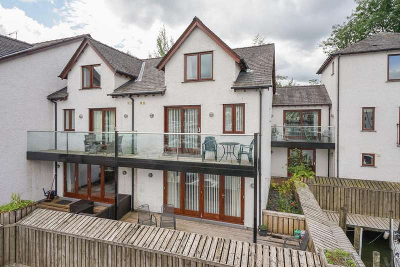 3 Bedrooms Terraced House for sale in 14 Windward Way, Windermere Marina, Bowness on Windermere, Cumbria, LA23 3BF