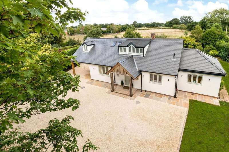 4 Bedrooms Detached House for sale in Newton Hall Lane, Mobberley, Knutsford, Cheshire, WA16