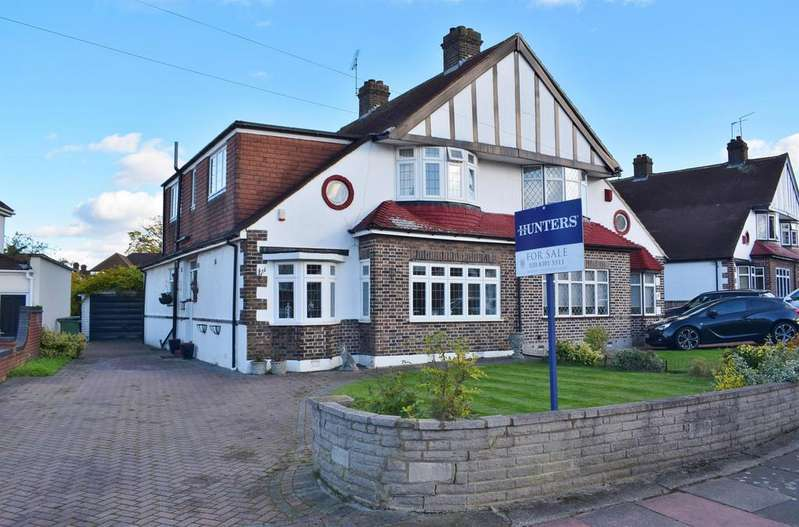 5 Bedrooms Semi Detached House for sale in Walton Road, Sidcup, Kent, DA14 4LW