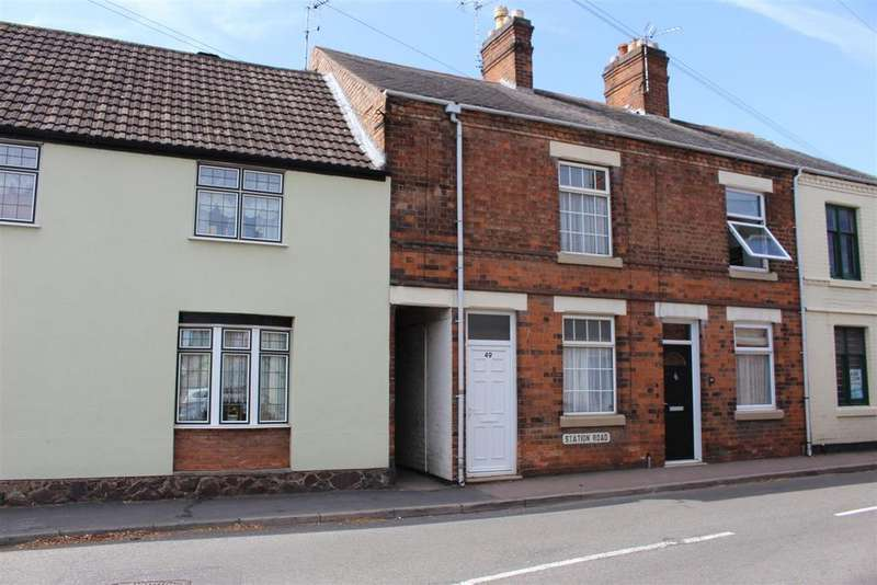2 Bedrooms Terraced House for sale in Station Road, Littlethorpe