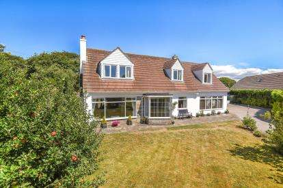4 Bedrooms Detached House for sale in Perran Downs, Penzance, Cornwall