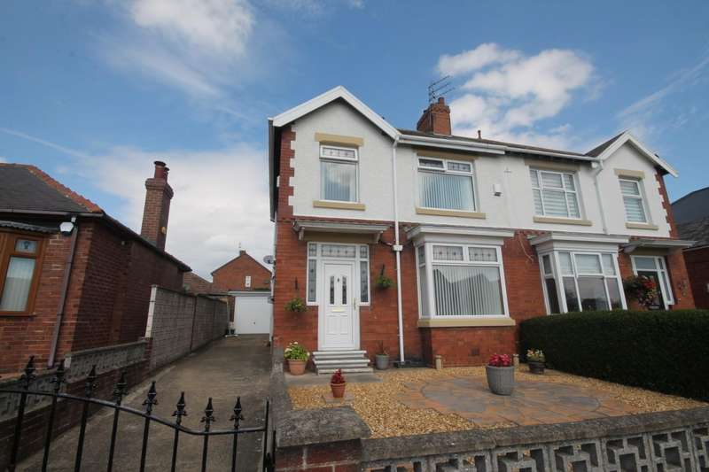 3 Bedrooms Semi Detached House for sale in Oxford Street, Shildon