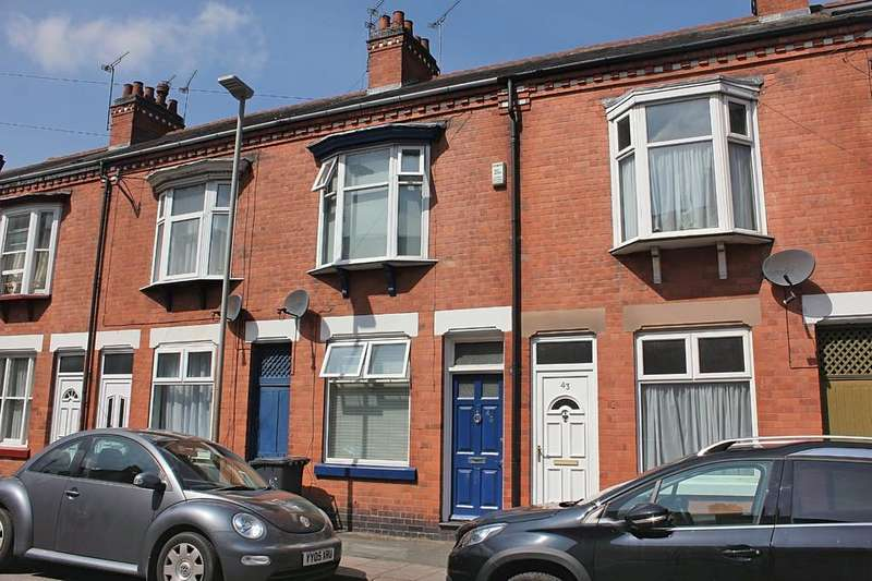 2 Bedrooms Terraced House for sale in Wilmington Road, Leicester