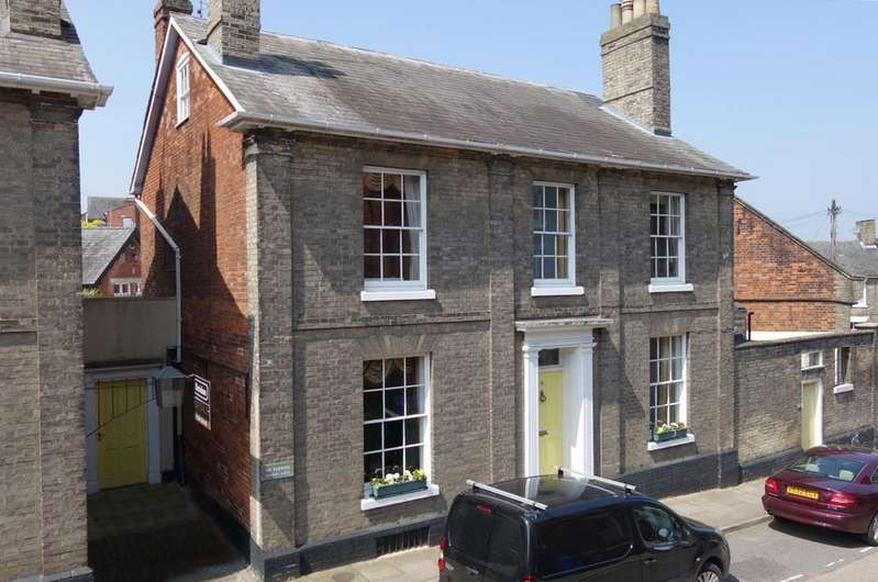4 Bedrooms Detached House for sale in Well Street, Bury St. Edmunds