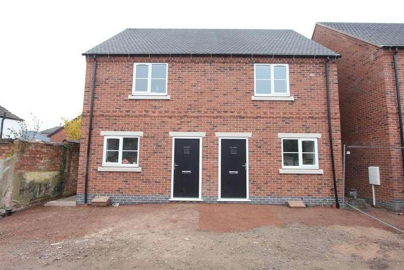 2 Bedrooms Semi Detached House for sale in Off Keats Lane, Earl Shilton