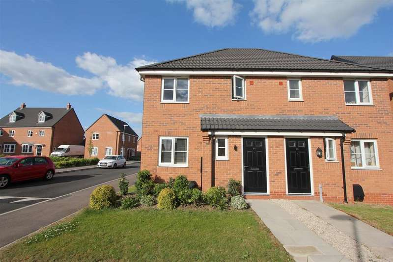 3 Bedrooms Semi Detached House for sale in Indigo Drive, Burbage, Hinckley