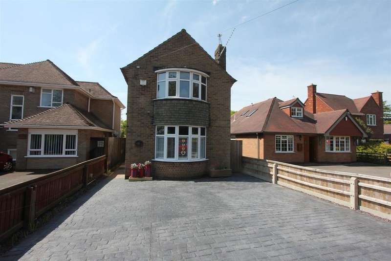 3 Bedrooms Detached House for sale in Trafford Road, Hinckley