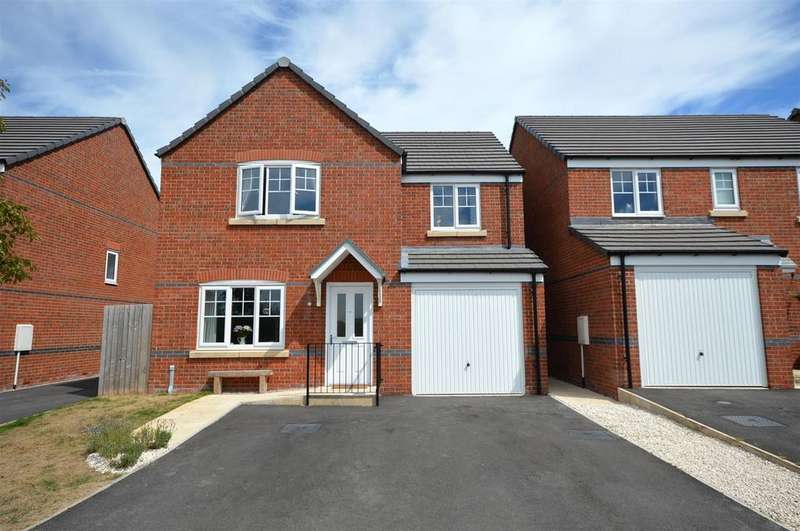 4 Bedrooms Detached House for sale in Teal Drive, Sandbach
