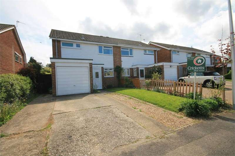 3 Bedrooms Semi Detached House for sale in Humber Close, THATCHAM, RG18