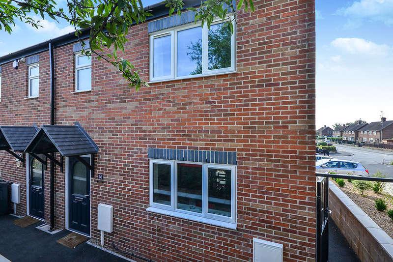 3 Bedrooms Semi Detached House for sale in Douglas Road, Somercotes, Alfreton, DE55