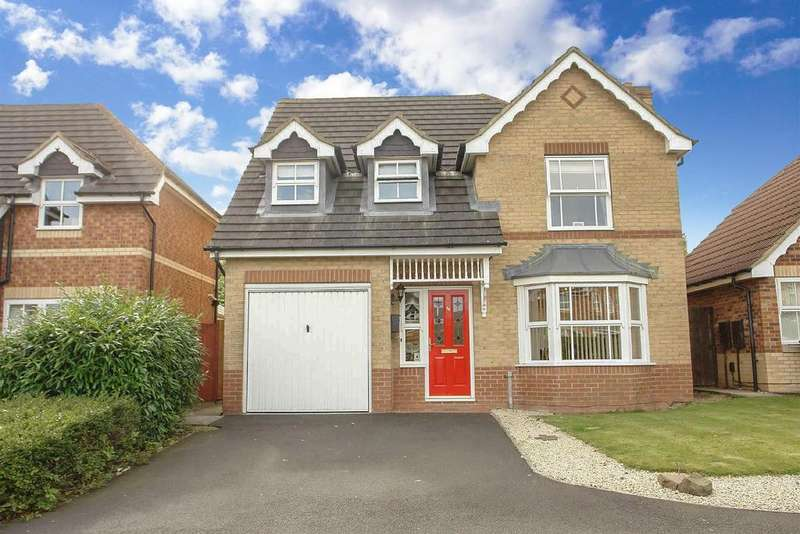 4 Bedrooms Detached House for sale in Greenlee Drive, Haydon Grange, Newcastle upon Tyne