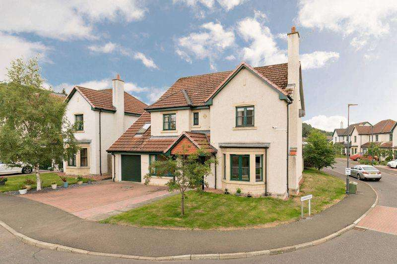 4 Bedrooms Detached House for sale in 9 Leeburn View, Cardrona, Peebles, EH45 9LS