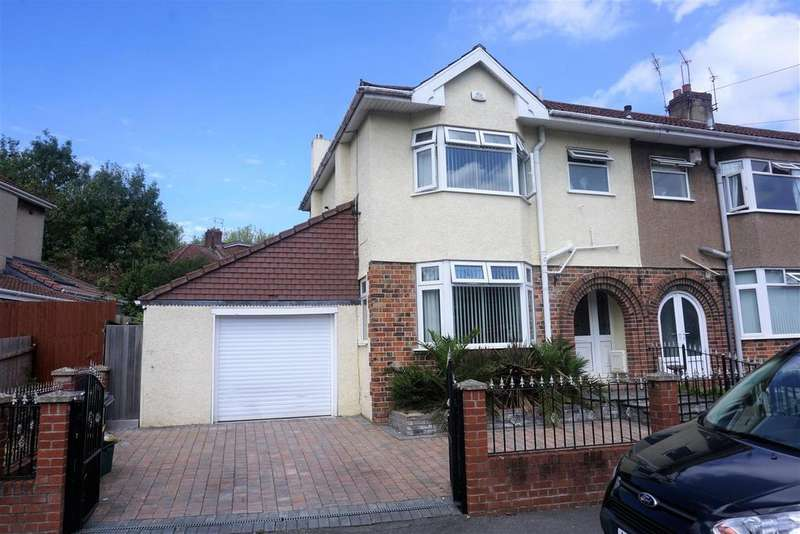 3 Bedrooms End Of Terrace House for sale in Hulse Road, Brislington, Bristol