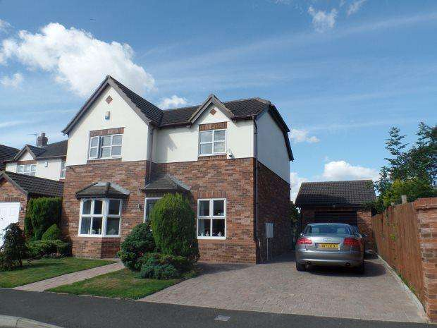 4 Bedrooms Detached House for sale in ROXBY WYND, WINGATE, PETERLEE AREA VILLAGES