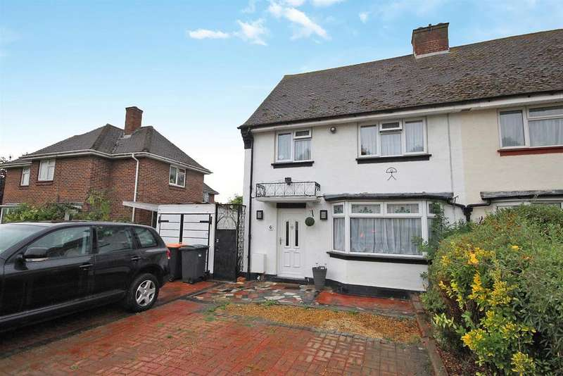 3 Bedrooms Semi Detached House for sale in Huntingdon Road, Kempston, Bedford