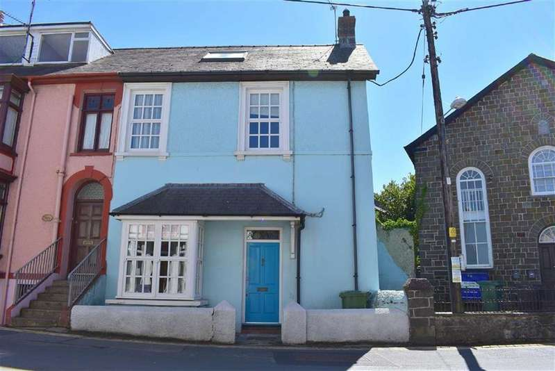 3 Bedrooms Semi Detached House for sale in Margaret Street, New Quay, Ceredigion