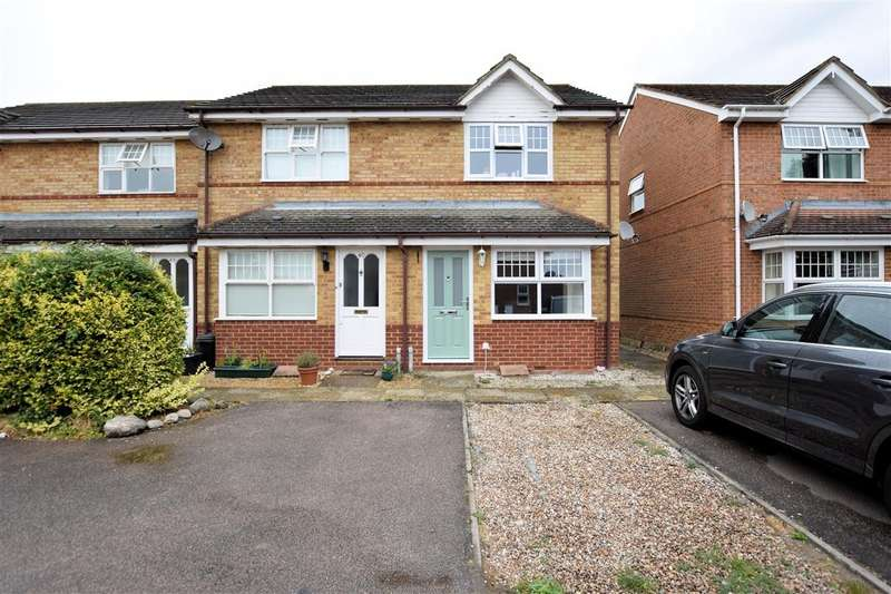 2 Bedrooms End Of Terrace House for sale in Century Drive, Spencers Wood, Reading, RG7