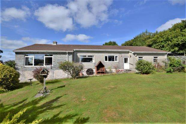 3 Bedrooms Detached Bungalow for sale in Pillaton, Saltash, Cornwall
