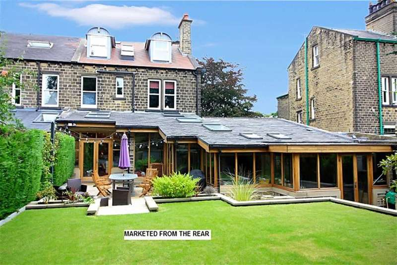 5 Bedrooms Semi Detached House for sale in Thornhill Road, Edgerton, Huddersfield