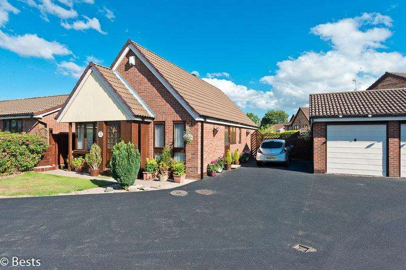 2 Bedrooms Detached Bungalow for sale in Warren Croft, Norton Cross, Runcorn